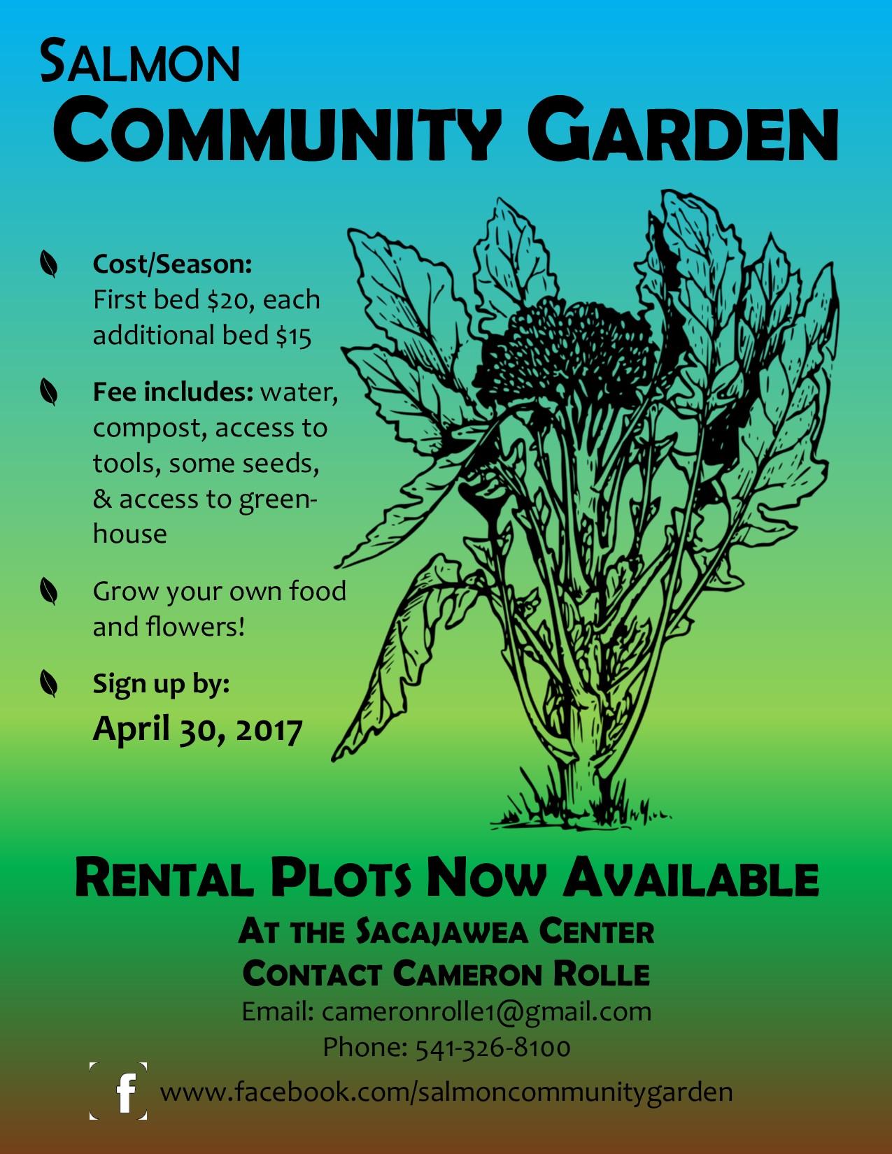 Salmon Community Garden
