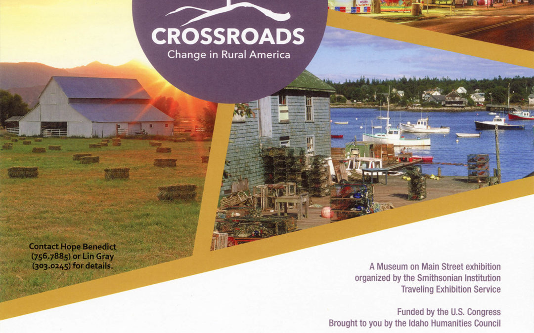 Don't miss the Crossroads exhibit!