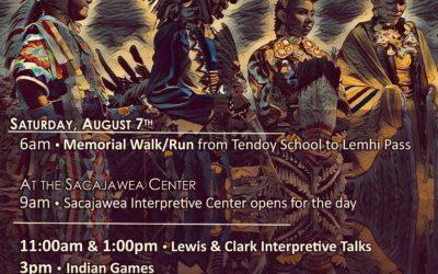 Agaidika Gathering August 7th at the Sacajawea Center