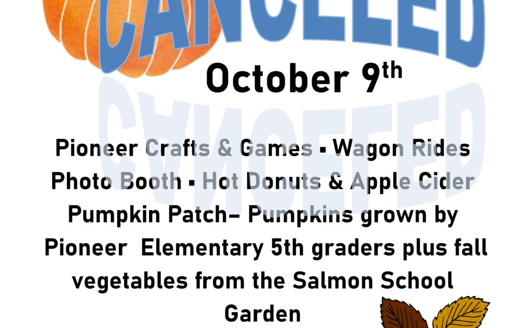 October 9th: Fall Frolic at the Sacajawea Center!