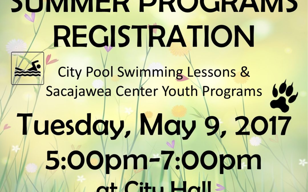 Summer Program Registration Begins May 9th!