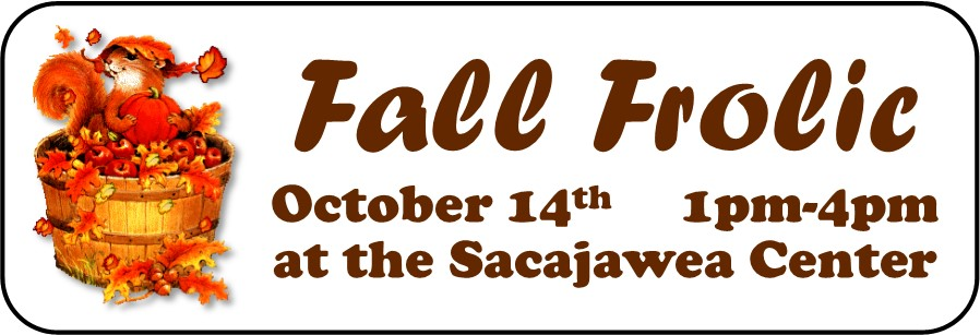 Fall Frolic! October 14th