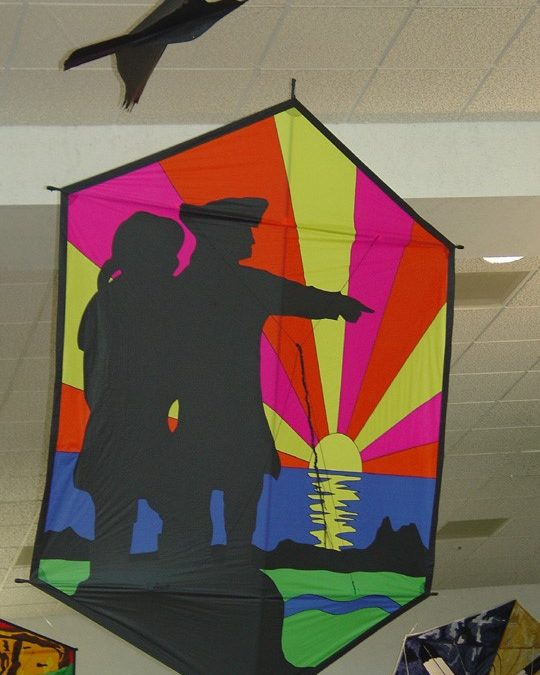 Lewis and Clark Kites On Display All Summer