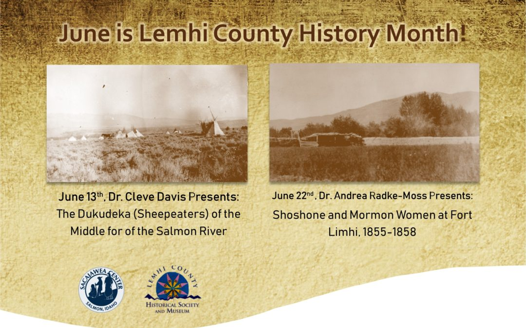 June is Lemhi County History Month