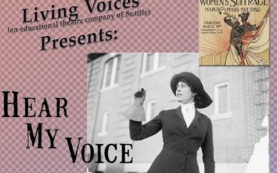 """""""Hear My Voice,"""" A Living Voices Original Production Video Now Available Through January 7th- Use the Link Below"""