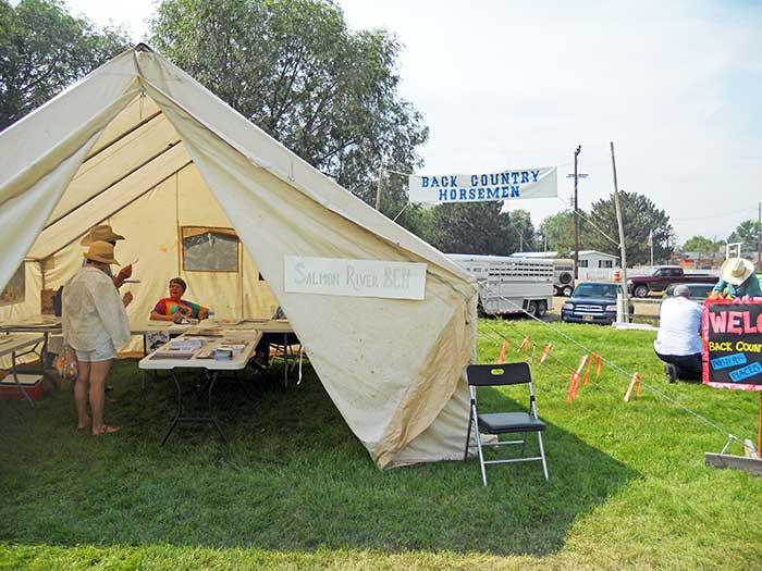Back Country Horsemen Booth